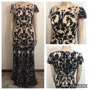 🆕 🌻 JS Collections Lace Overlay Prom Evening